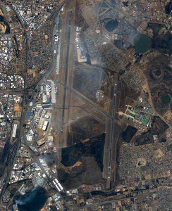 Aerial view of OR Tambo International airport | Travelflight