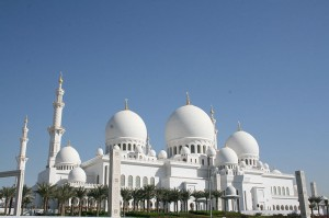 Abu Dhabi mosque | Travelflight